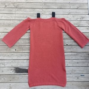 Moussy off the shoulder sweater dress